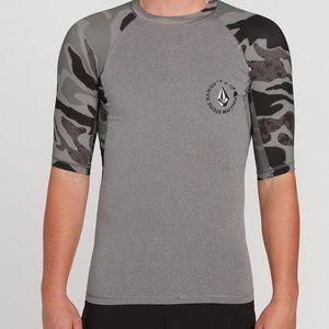 Kona Short Sleeve UPF 50 Rashguard GRY